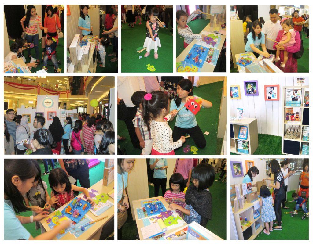 gummybox event at market museum jakarta